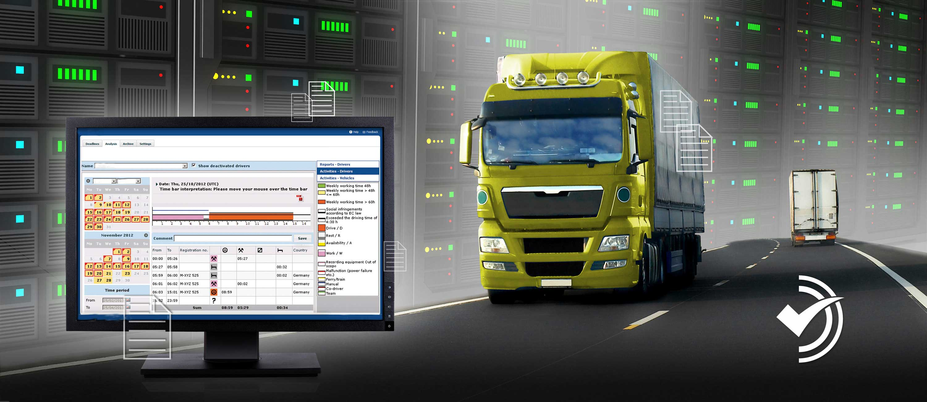 A Smart Fleet Manager – Truck Destino –
